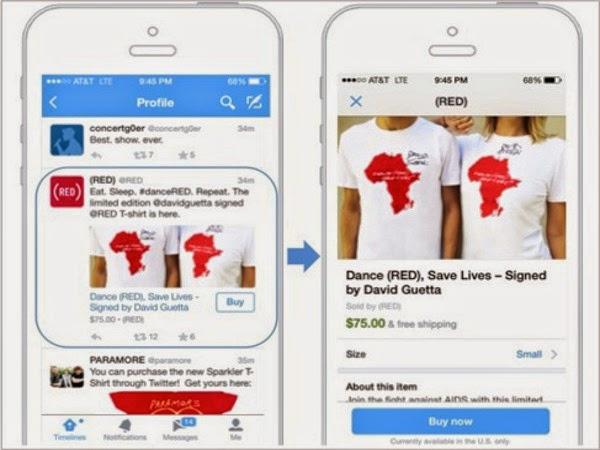 Botón comprar de Twitter