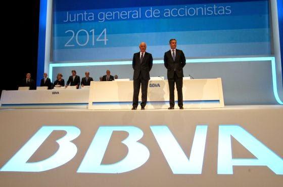 Junta general de accionistas del BBVA 2014