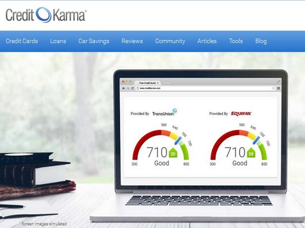 Credit Karma, puntuaciones de crédito gratuitas