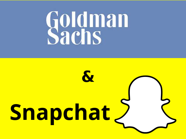 Goldman Sachs y Snapchat