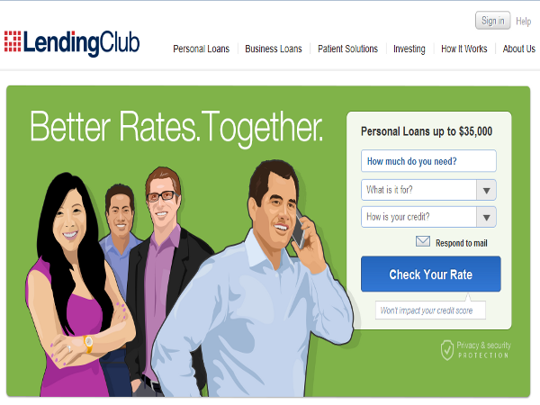 LendingClub, plataforma de préstamos P2P para el consumidor