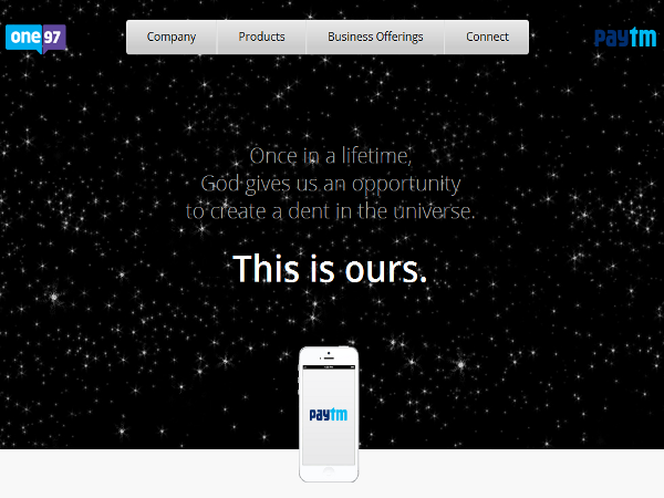 One97, gestiona la plataforma de pagos en línea Paytm
