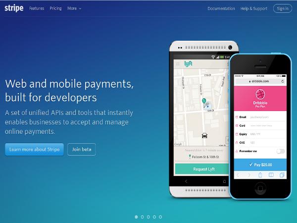 Stripe, empresa de procesamiento de pagos en línea