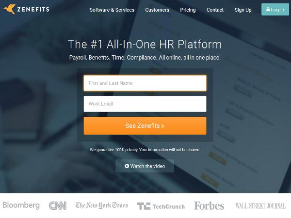 Zenefits, software gratuito de Recursos Humanos para la pequeña empresa