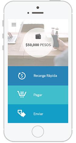 App móvil de Volabit, un intercambio de Bitcoin en México