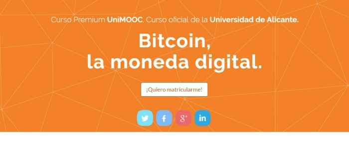 5 cursos online sobre bitcoin