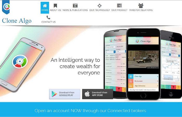 Aplicación para móviles Clone Algo