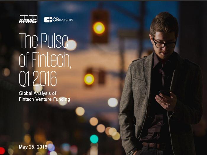 Inversión fintech: Informe sobre la inversión de capital riego en el sector fintech durante el primer trimestre de 2016