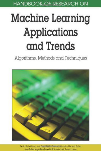Libro: Handbook of Research on Machine Learning Applications and Trends