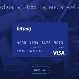 Nueva tarjeta de débito Visa Bitpay
