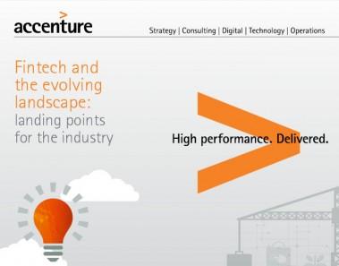 Informe de Accenture sobre fintech