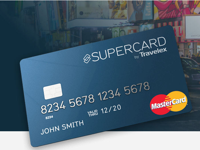 Nueva tarjeta Supercard de Travelex para pagar en el extranjero sin comisiones