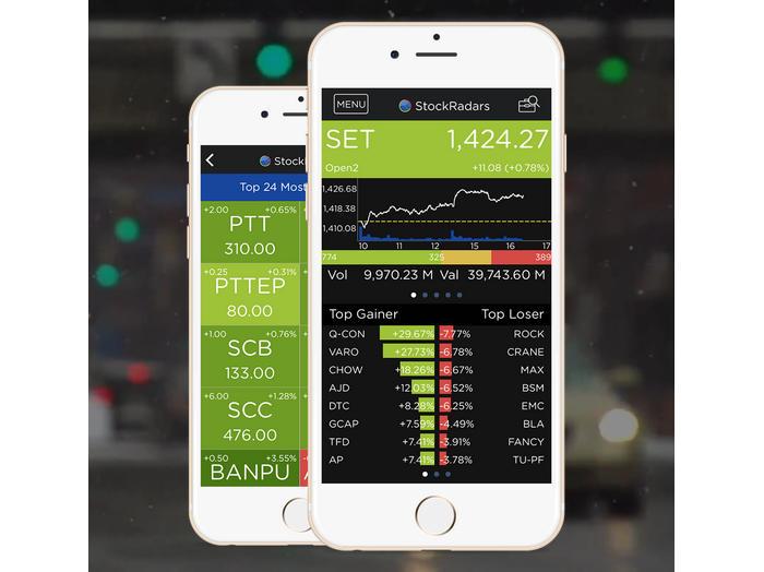 StockRadars, app para monitorizar y comprar y vender acciones en tiempo real