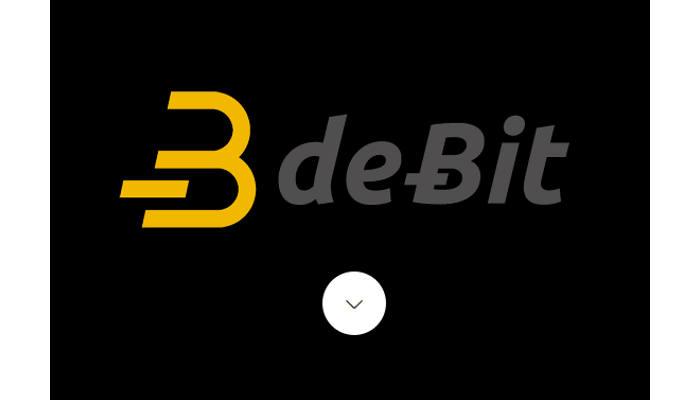deBit, tarjeta de débito para pagar en tiendas con bitcoins