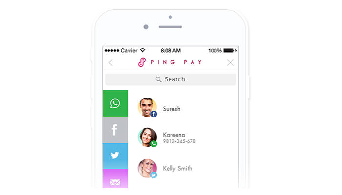 Fastacash, API de pagos en línea compatible con Facebook, Twitter, Whatsapp y SMS