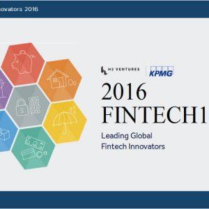 KPMG y H2 Ventures publican su tercer listado anual Fintech 100