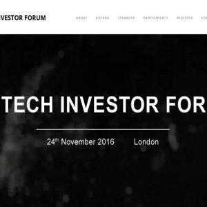 Fintech Investor Forum en Londres