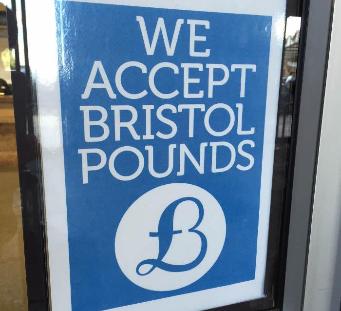 Bristol Pound. Monedas locales digitales