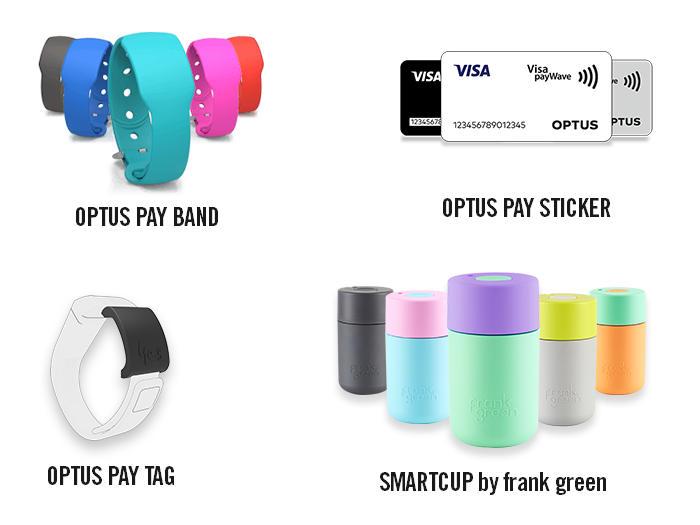 Dispositivos vestibles o wearables con sistema de pagos Optus Pay