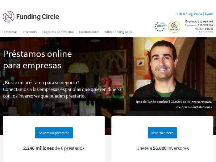 Funding Circle recibe 40 millones de libras del gobierno británico