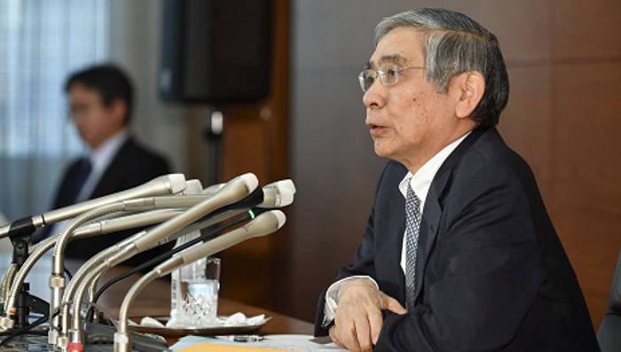 Haruhiko Kuroda, gobernador del Banco de Japón