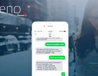 Capital One lanza Eno, un chatbot capaz de interactuar mediante emoticonos