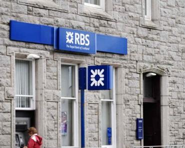RBS anuncia el cierre de 158 sucursales