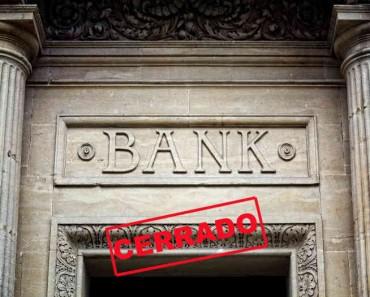 La banca sigue cerrando sucursales en todo el mundo