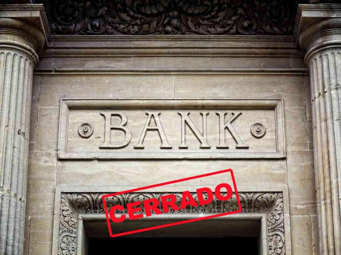 La banca sigue cerrando sucursales. ¿Desaparecerá la tuya?