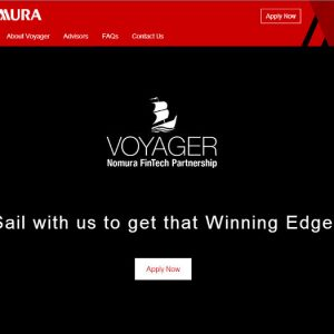 Nomura lanza Voyager en colaboración con PwC, Google, IBM y Amazon