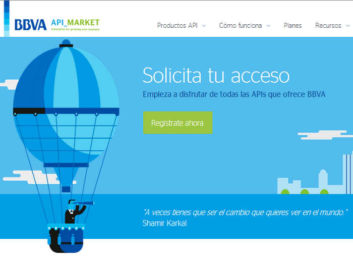 BBVA API Market: las API abiertas del BBVA