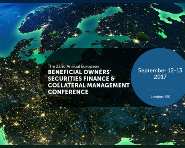 European Beneficial Owners' Securities Finance & Collateral Management Conference