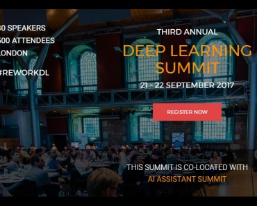 Deep Learning Summit London 2017