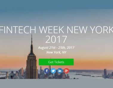 New York Fintech Week 2017