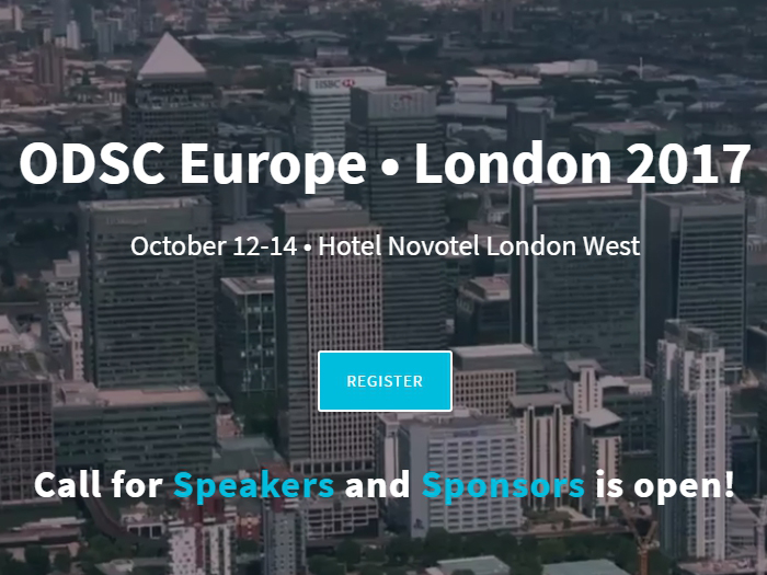 Open Data Science Conference Europe London 2017