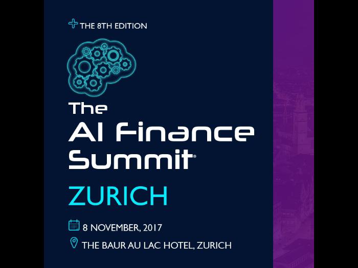 The AI Finance Summit 2017