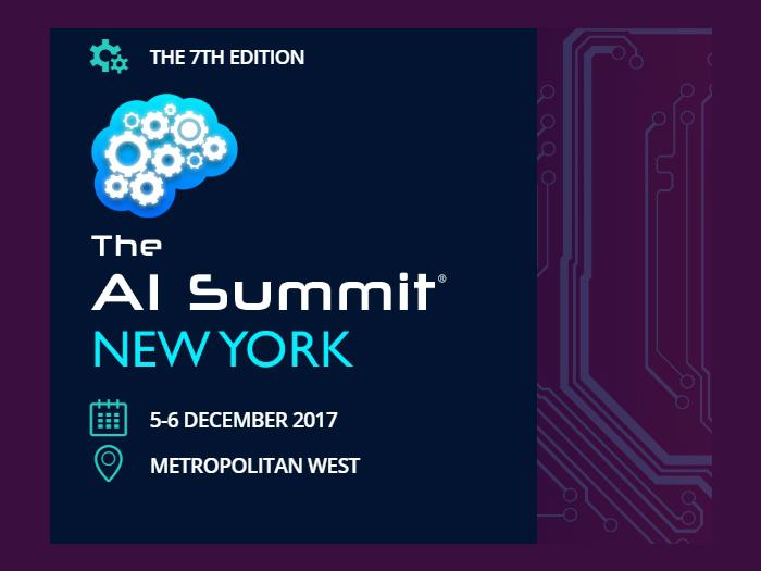 The AI Summit New York 2017