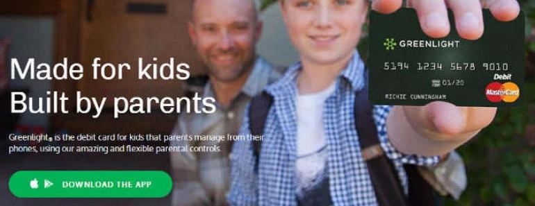 Tarjeta de débito inteligente para niños de Greenlight