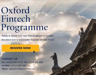 La Universidad de Oxford lanza un programa especializado en fintech: Oxford Fintech Program