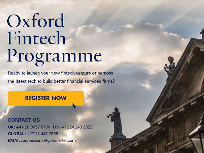 La Universidad de Oxford lanza un programa especializado en fintech: Oxford Fintech Program