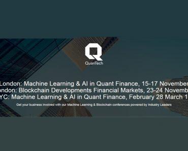 Machine Learning & AI in Quantitative Finance Conference 2017