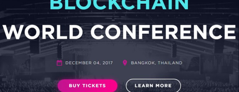 Blockchain World Conference Bangkok 2017