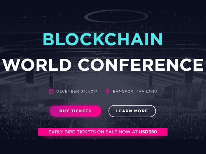 Blockchain World Conference Bangkok 2017