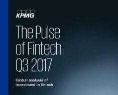 Informe de KPMG: The Pulse Of Fintech Q3 2017