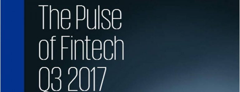 Informe de KPMG: The Pulse Of Fintech Q3 2017