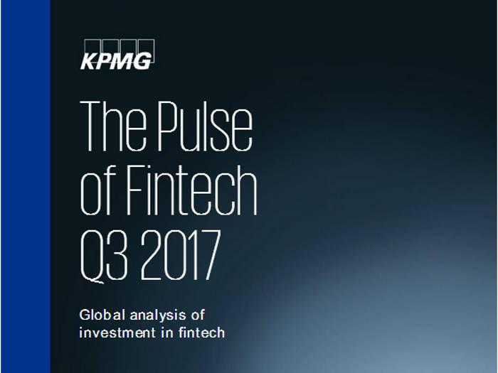La inversión global en fintech alcanza los 8.200 millones de dólares en el tercer trimestre según KPMG