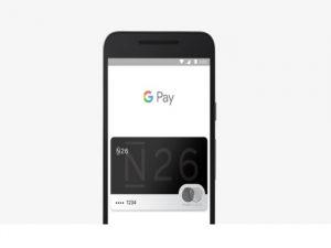 Los clientes de N26 en España ya pueden utilizar Google Pay