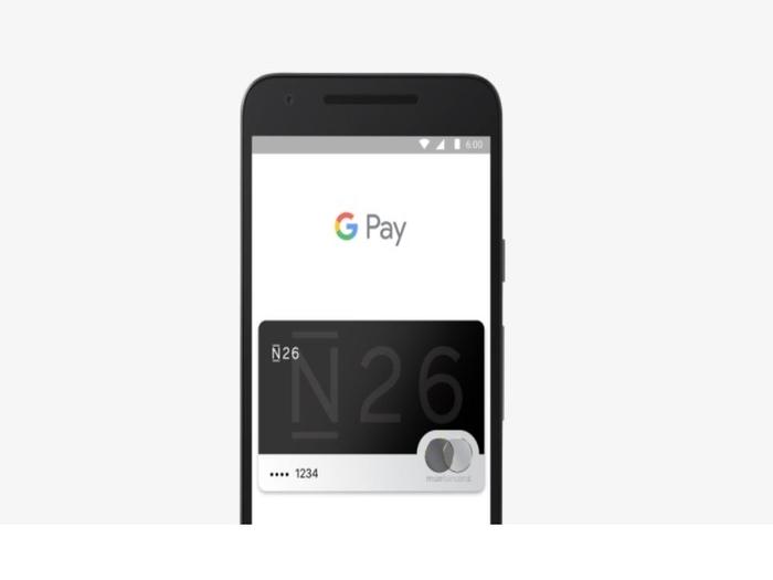 clientes de n26 en espana ya pueden utilizar google pay