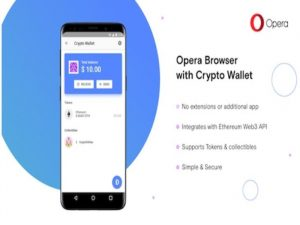 Opera lanza un navegador móvil con un monedero de criptomonedas integrado